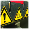 naklejki bhp ostrzegawcze