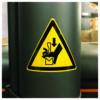 naklejka ostrzegawcza W030 / ISO 7010