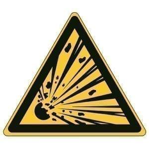 Etykieta ostrzegawcza W002 / ISO 7010 - piktogramy BHP