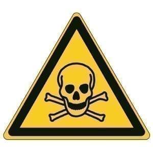 Etykieta ostrzegawcza W016 / ISO 7010 - piktogramy BHP