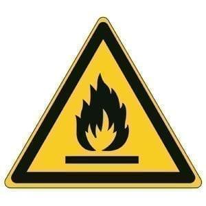 Etykieta ostrzegawcza W021 / ISO 7010 - piktogramy BHP