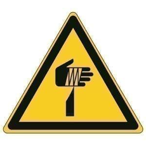 Etykieta ostrzegawcza W022 / ISO 7010 - piktogramy BHP