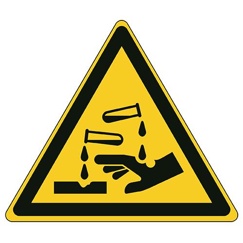 Etykieta ostrzegawcza W023 / ISO 7010 - piktogramy BHP