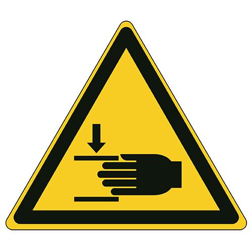 Etykieta ostrzegawcza W024 / ISO 7010 - piktogramy BHP