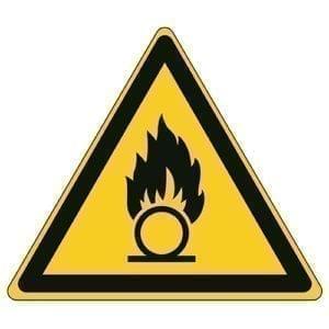 Etykieta ostrzegawcza W028 / ISO 7010 - piktogramy BHP