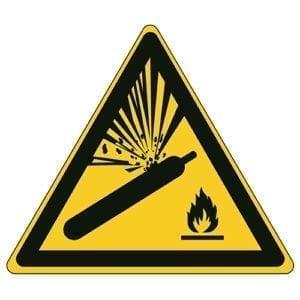 Etykieta ostrzegawcza W029 / ISO 7010 - piktogramy BHP