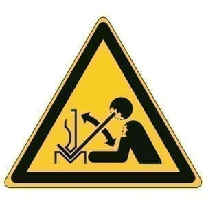 Etykieta ostrzegawcza W032 / ISO 7010 - piktogramy BHP