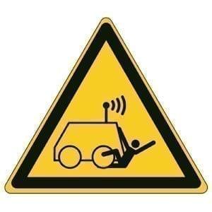 Etykieta ostrzegawcza W037 / ISO 7010 - piktogramy BHP