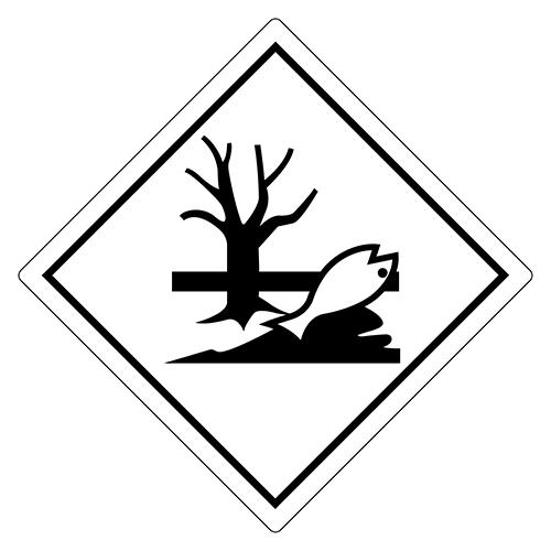 naklejki ADR Materiały zagrażające środowisku